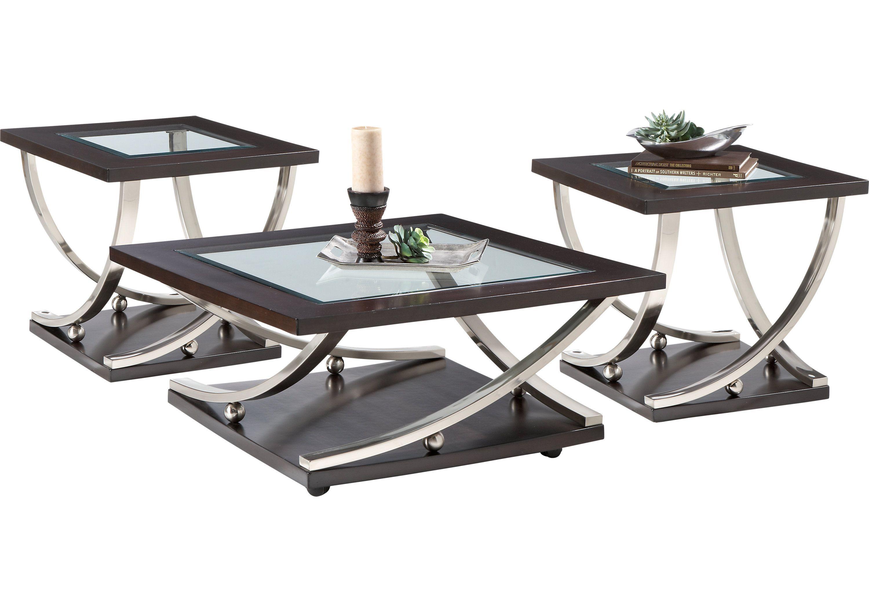 Menlo Park 3 Pc Table Set Table Sets Living Room Table Sets Table Settings Affordable Table