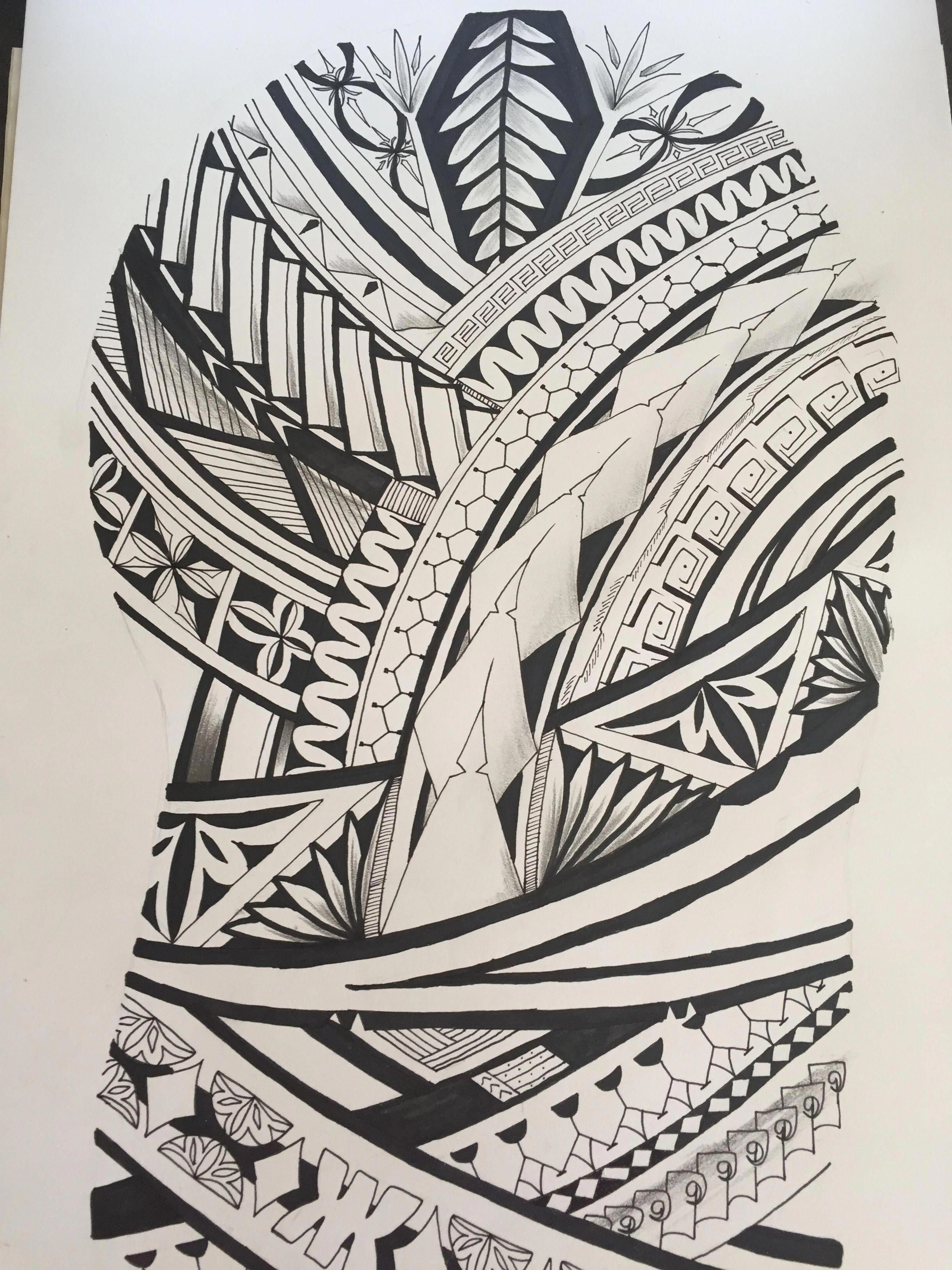 Polynesian Tattoos Meaning Strength And Courage Polynesiantattoos