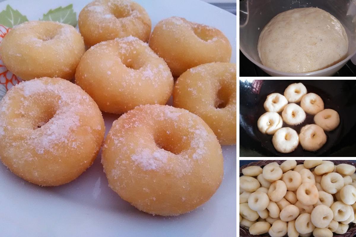 Resipi Donut Kampung Yang Sangat Sedap Lembut Mudah Dan Sangat Sesuai Digunakan Untuk Perniagaan Kuih Muih Sejukbeku Tak Per Baked Donut Recipes Food Donuts
