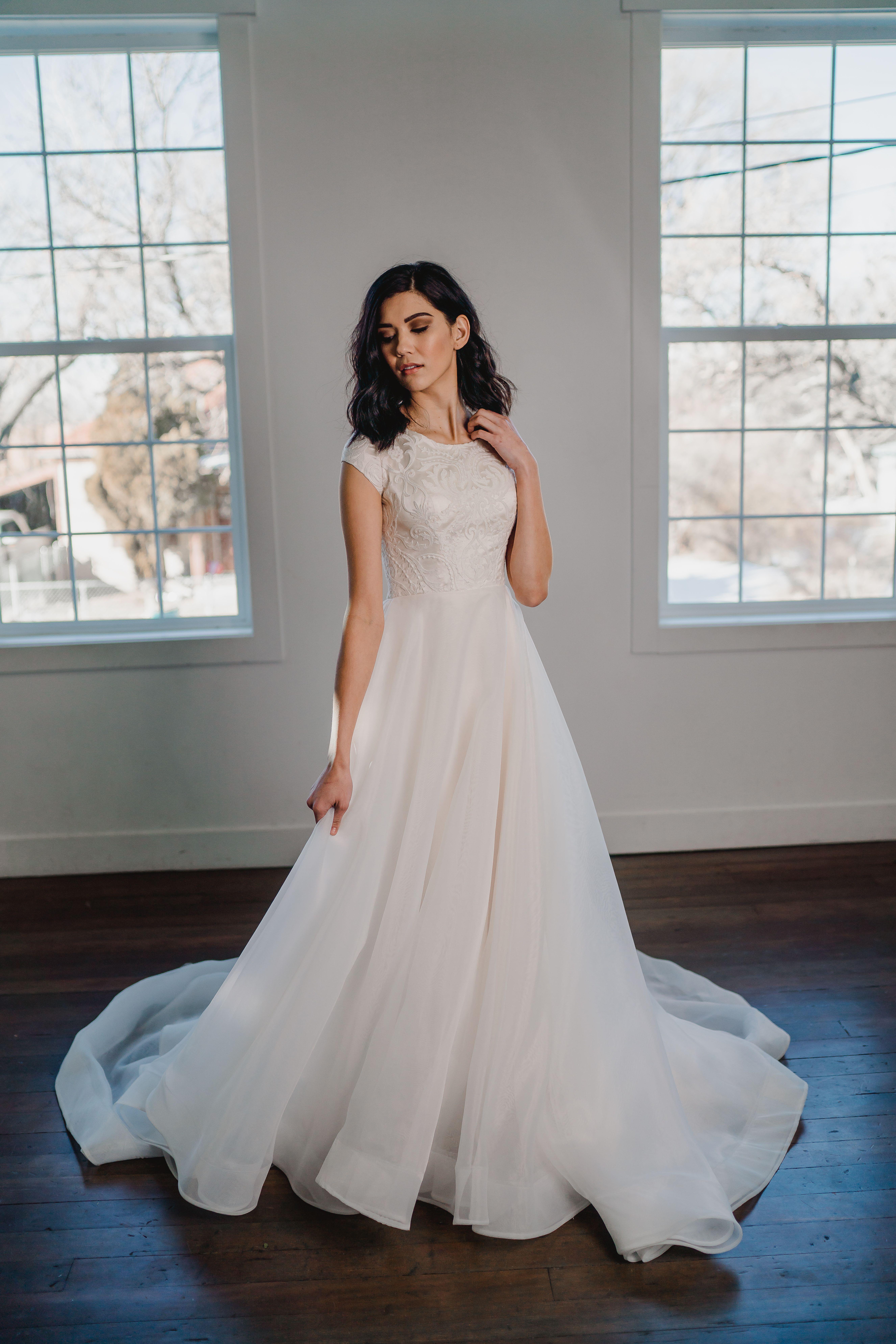 Holly Gown Natalia Chantae Photography Modest Wedding Dress