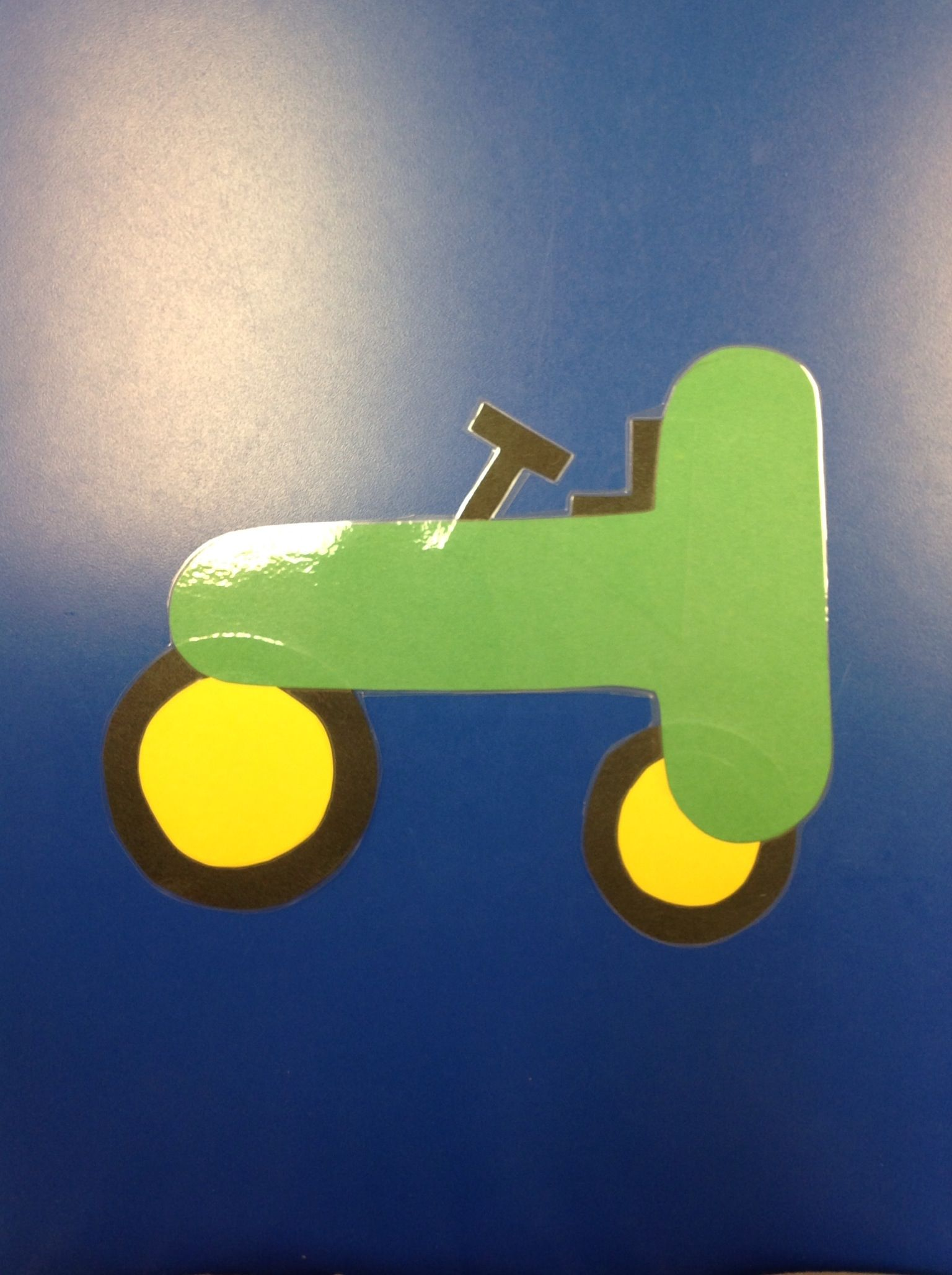 T Is For Tractor Hand Made By My Co Teacher And Myself
