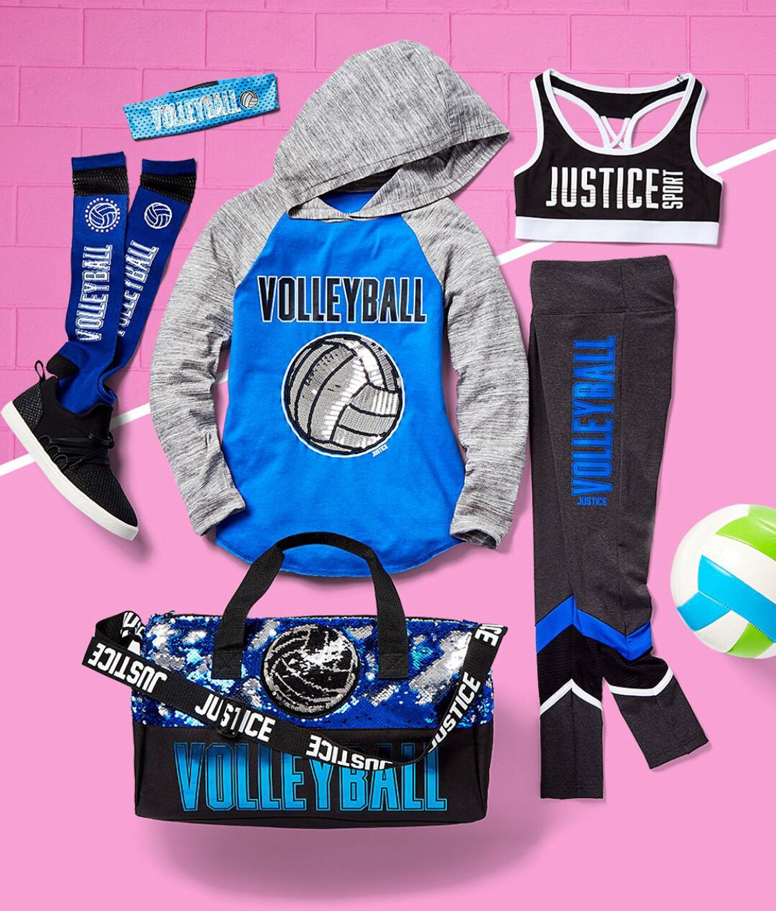 Justice Volleyball School Sports Justice Clothing Outfits Girls Sports Clothes Justice Clothing