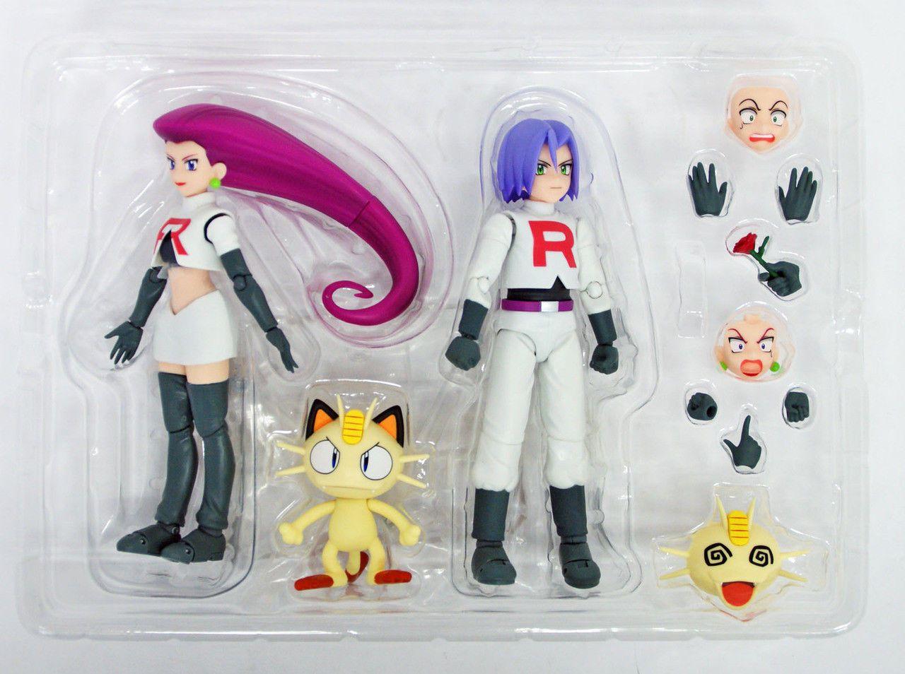 SH S.H Figuarts Team Rocket Pokemon bandai Japan NEW