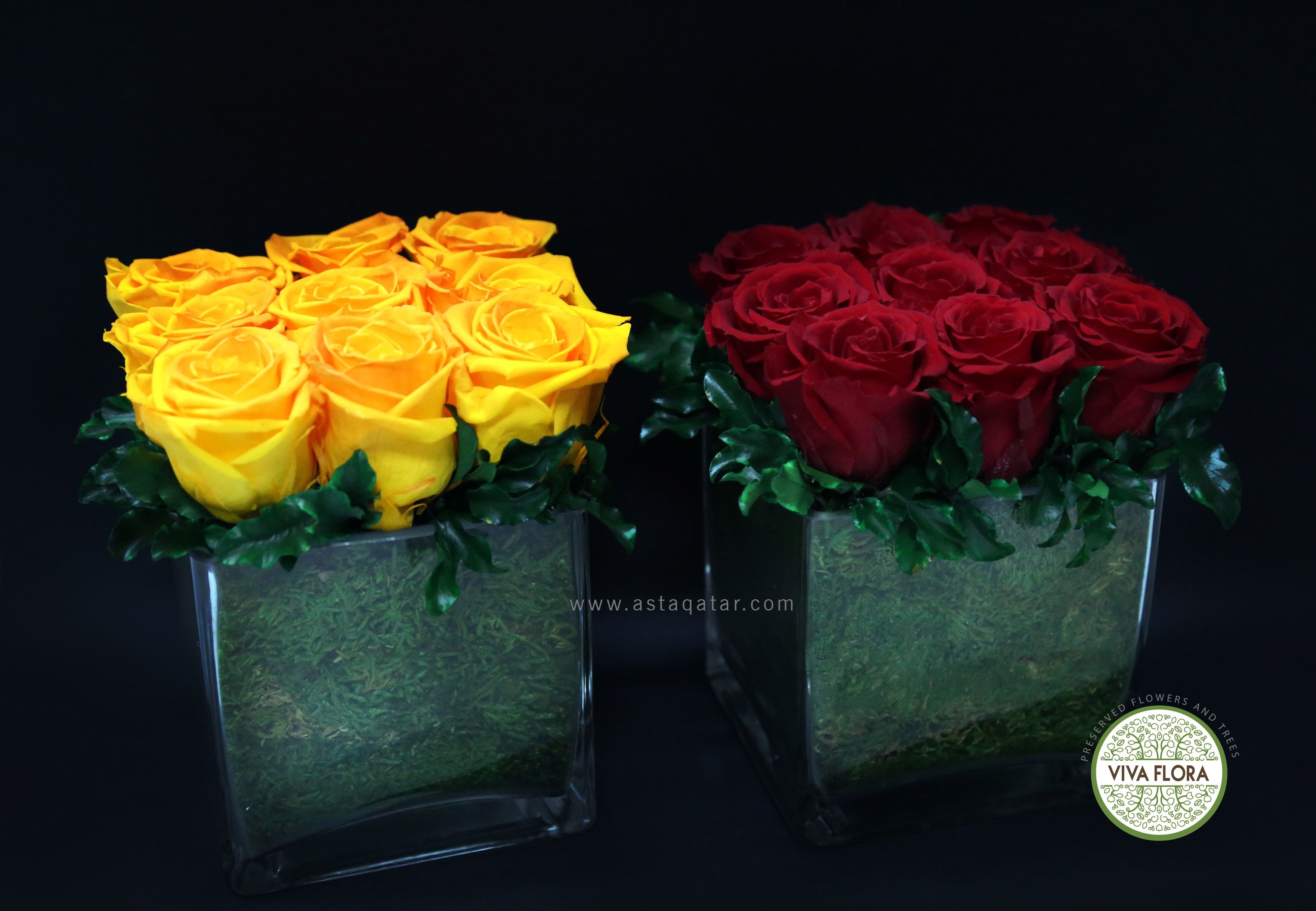 Preserved Flower Arrangements From Viva Flora Doha Qatar How To Preserve Flowers Green Wall Flower Arrangements