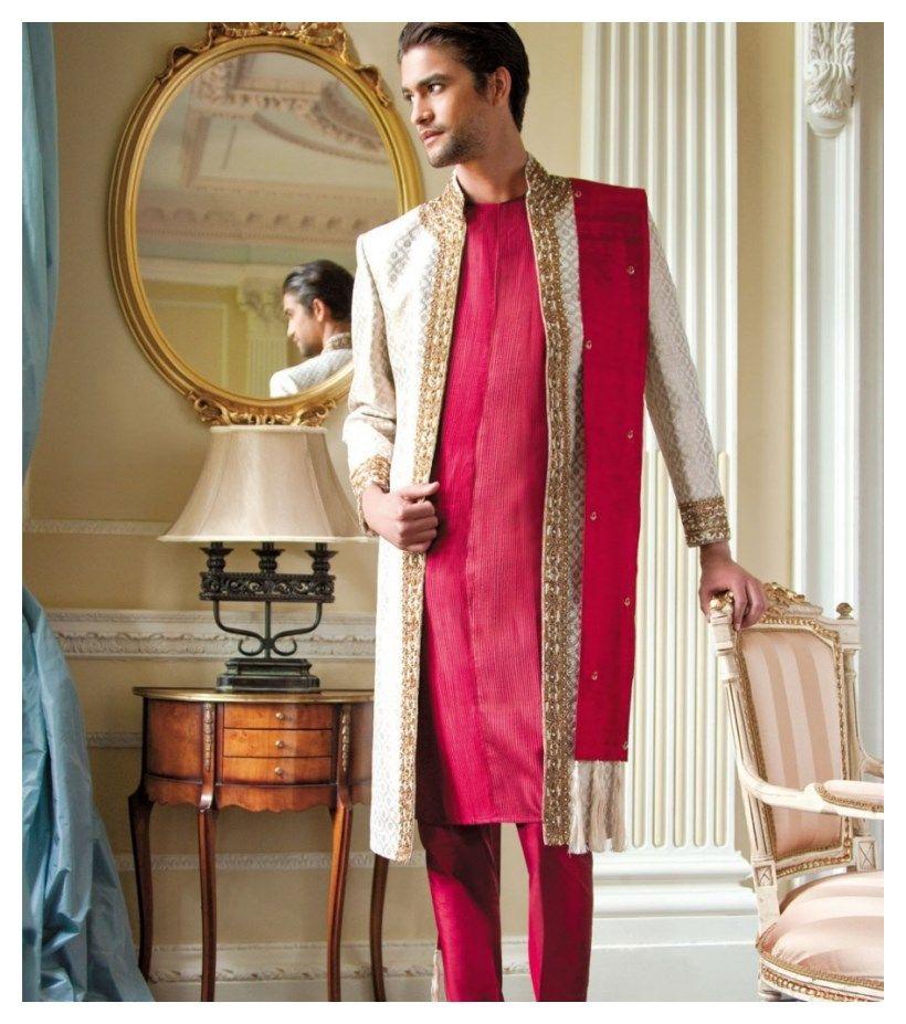 Latest Bridegroom Indian Wedding Party Dresses For Men