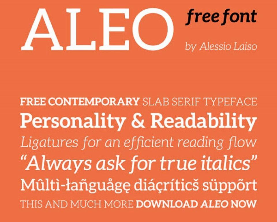 Roundup of Recent Free Fonts (+10 Premium) | iDevie