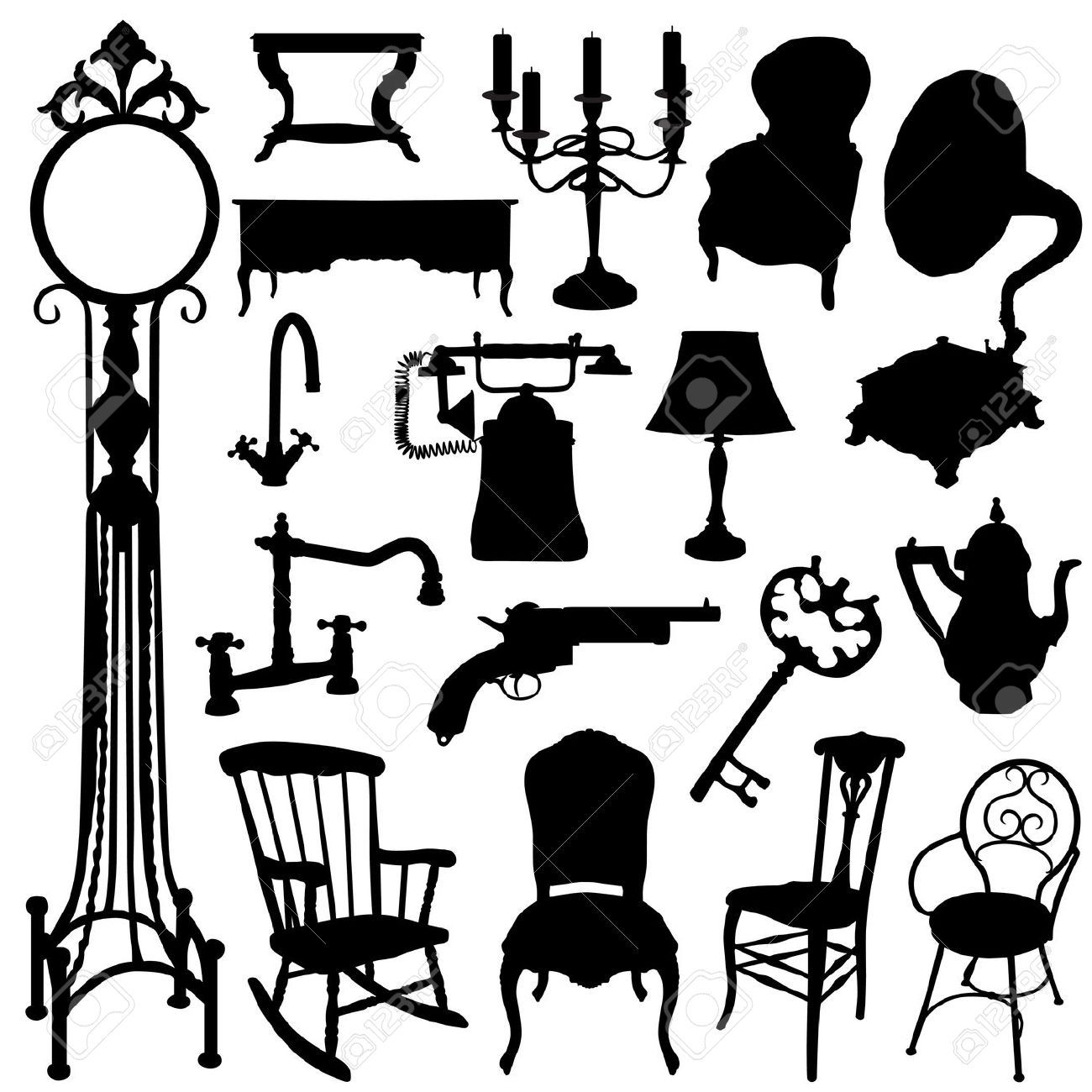Cartoon Furniture Drawings Google Search Theatrescapes  # Muebles Tik Tak