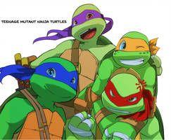 TMNT by Natsu-Nori | jasmine | Ninja turtles, Ninja, TMNT 2012