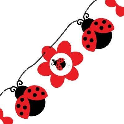 ladybug baby shower banner rosemary company