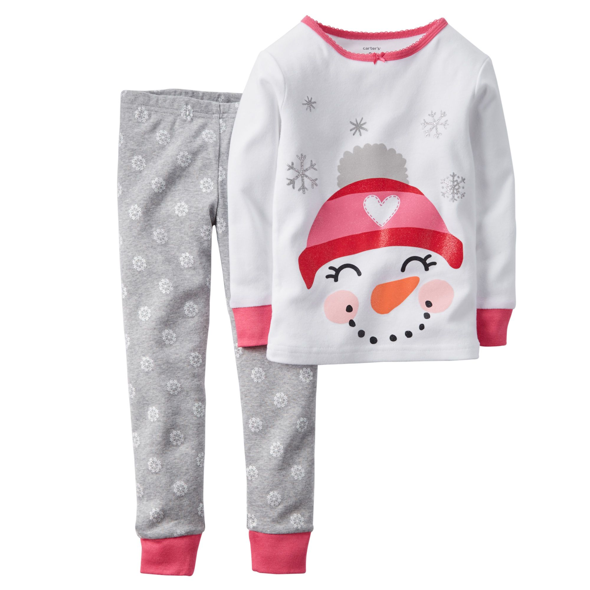9ac8558a7 2-Piece Snug Fit Cotton PJs