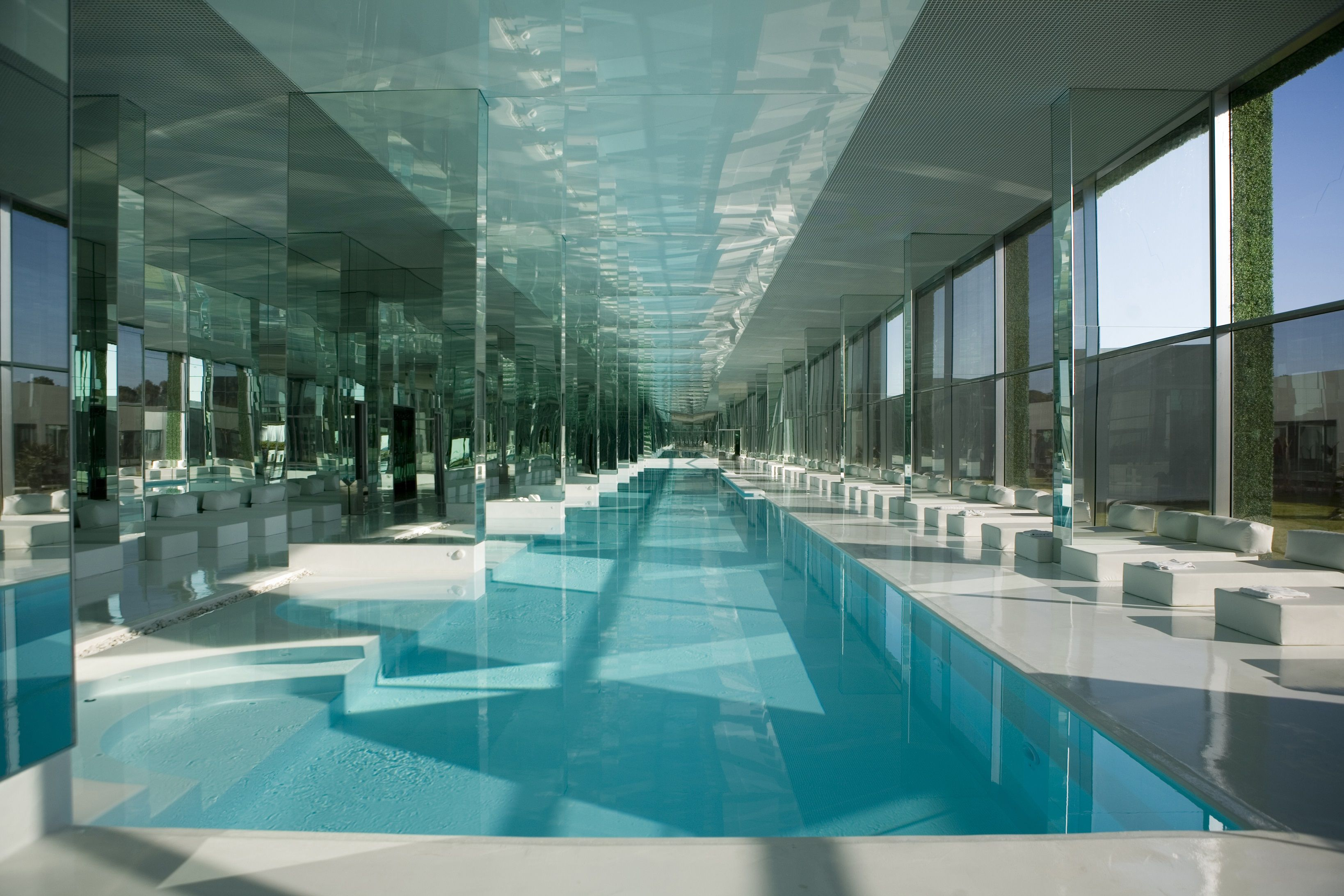 chandelier indoor swimming pool - Google Search | 泳池 | Pinterest ...