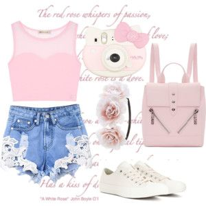 Traje de color rosa pálido