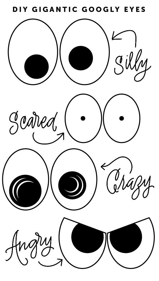 Random Diy Gigantic Yard Googly Eyes Eye Drawing Cartoon Eyes Halloween Pictures