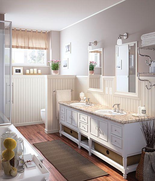 So In Love With This Bathroom. Clean And Sleek! @wilsonart