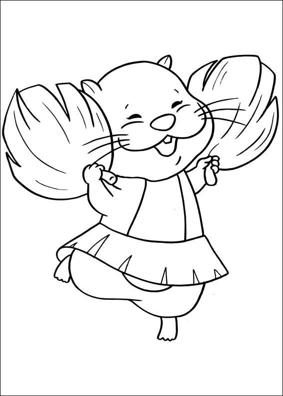 Zhu Zhu Pets Coloring Pages 50 Coloring pages for kids Pinterest