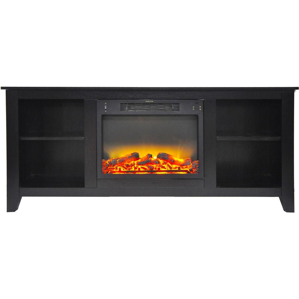 Hanover Bel Air 63 In Electric Fireplace And Entertainment Stand