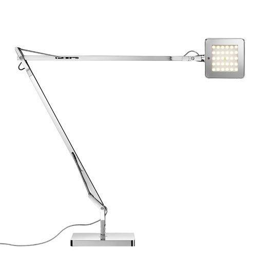 Flos Kelvin Led Desk Lamp Chrome Led Desk Lamp Green Table Lamp Task Lamps