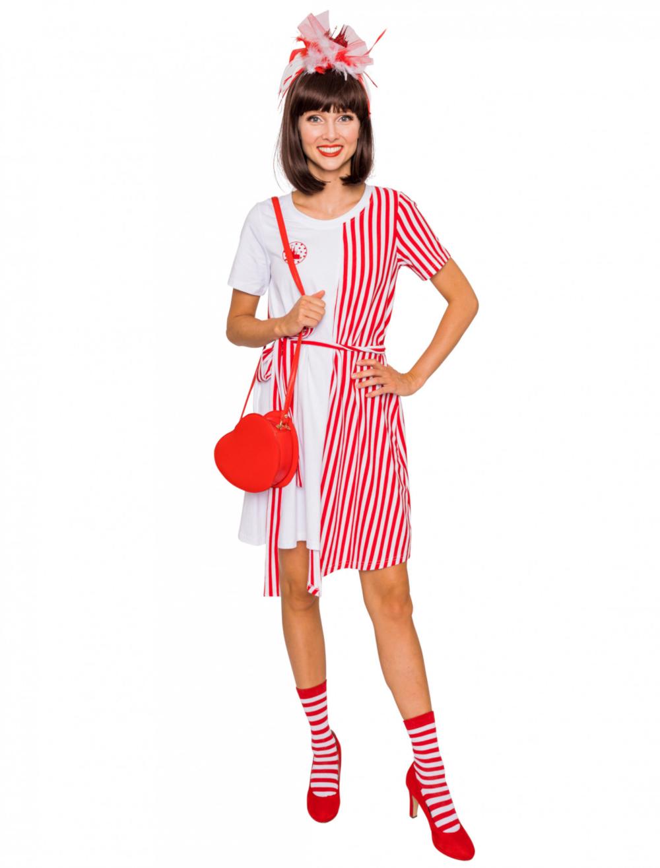 deiters | rot-weiß ringel kostüm | rot weiss, kleider, kleid