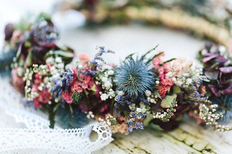 Boho Hochzeit im Herbst