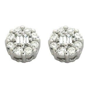 14K White Gold 0.2cttw Round Diamond Earring Jewelry Pot. $622.99. 30 Day Money Back Guarantee. All Genuine Diamonds, Gemstones, Materials, and Precious Metals. Fabulous Promotions and Discounts!. Your item will be shipped the same or next weekday!. 100% Satisfaction Guarantee. Questions? Call 866-923-4446. Save 32% Off!