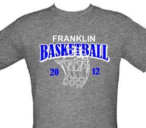 Basketball T-shirts Custom Designs | basketball | Pinterest