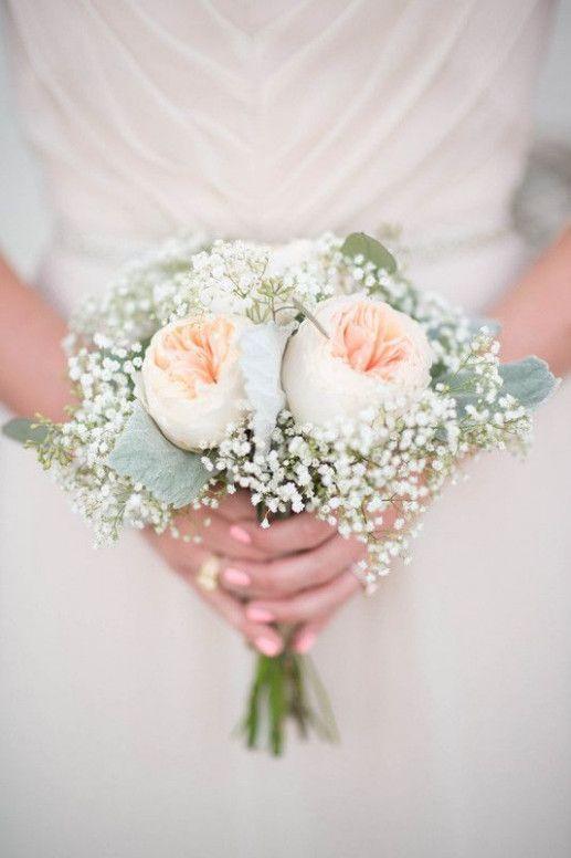 Garden Wedding Flowers Babies Breath