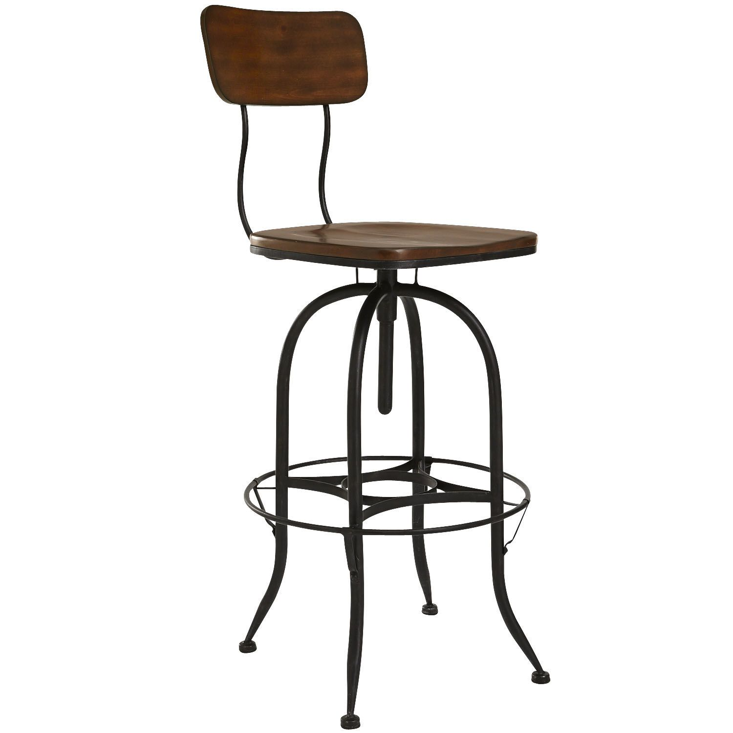 Stanford Swivel Barstool Wood New House Swivel Bar