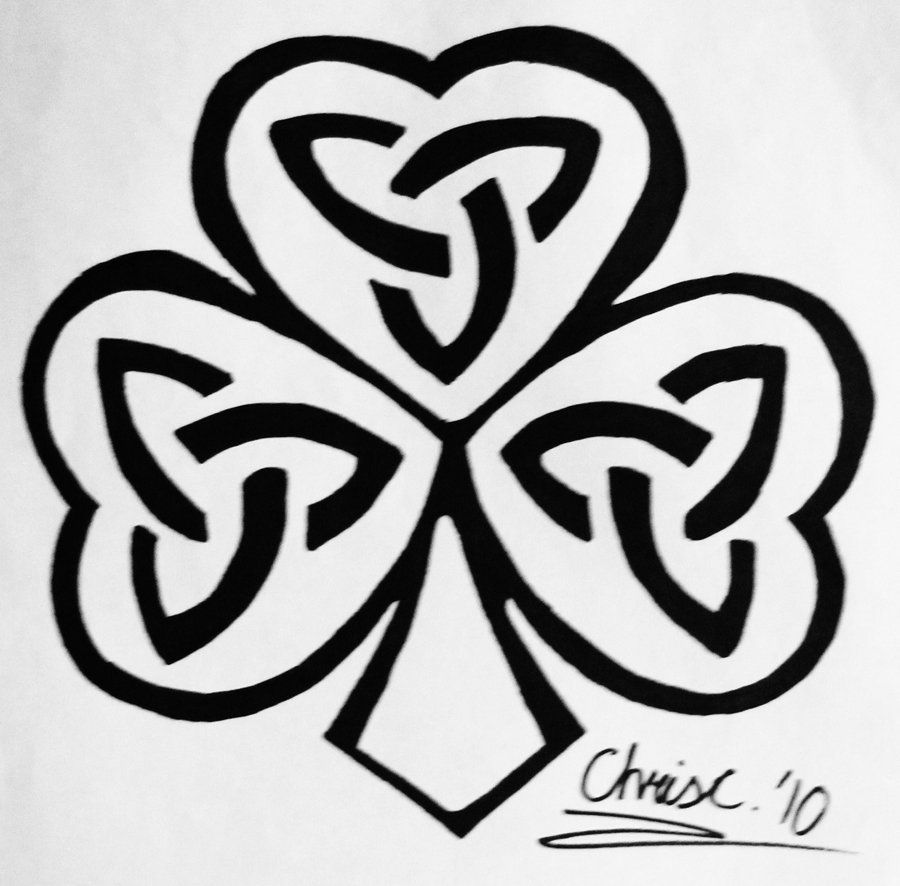 Triquetra Shamrock Tattoo by TickleMeHoHo on DeviantArt | St ...