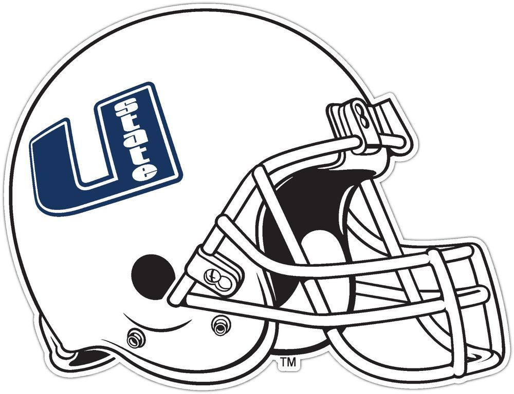 Details About Utah State Aggies Ncaa Vinyl Car Bumper Window