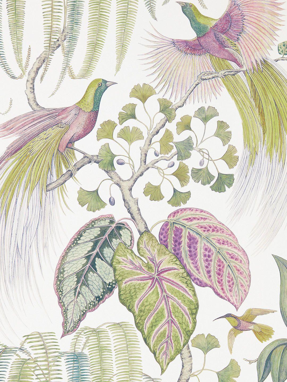 Sanderson Bird of Paradise Wallpaper, DGLW216652
