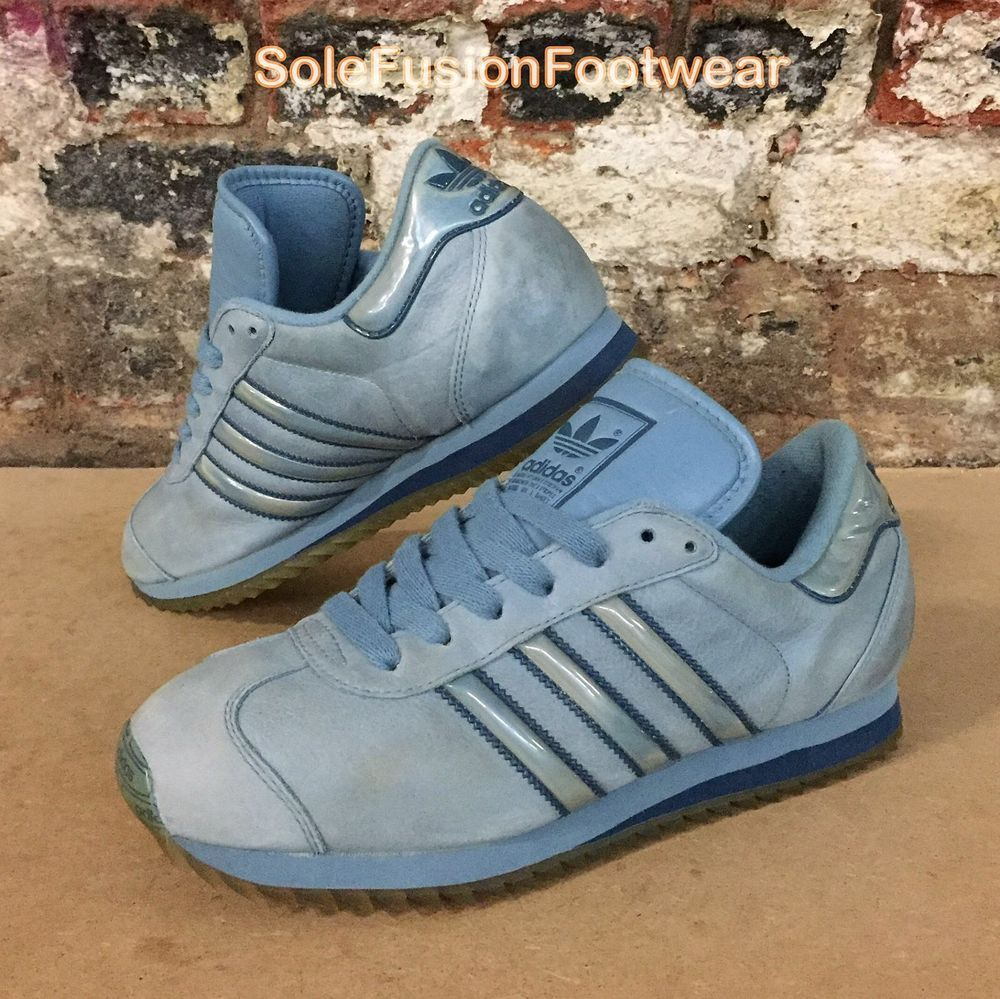 cheap for discount 3dfb7 0d89a adidas Country Mens Trainers Blue size UK 6.5 Rare VTG Ripple Sneaker US 7  EU 40   eBay