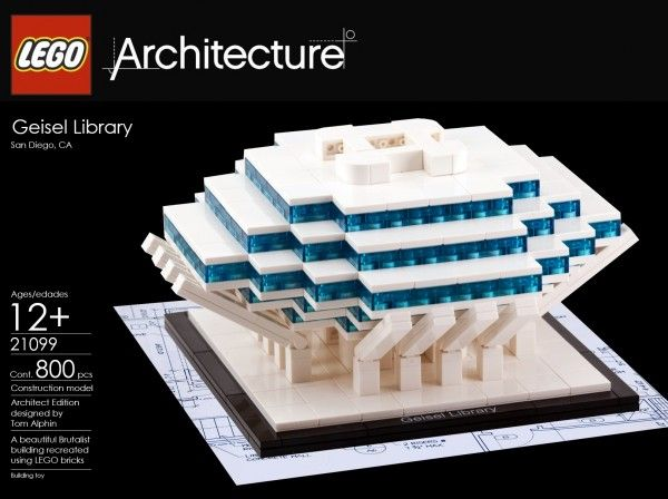 Geisel Library A Lego Architecture Moc Special Lego