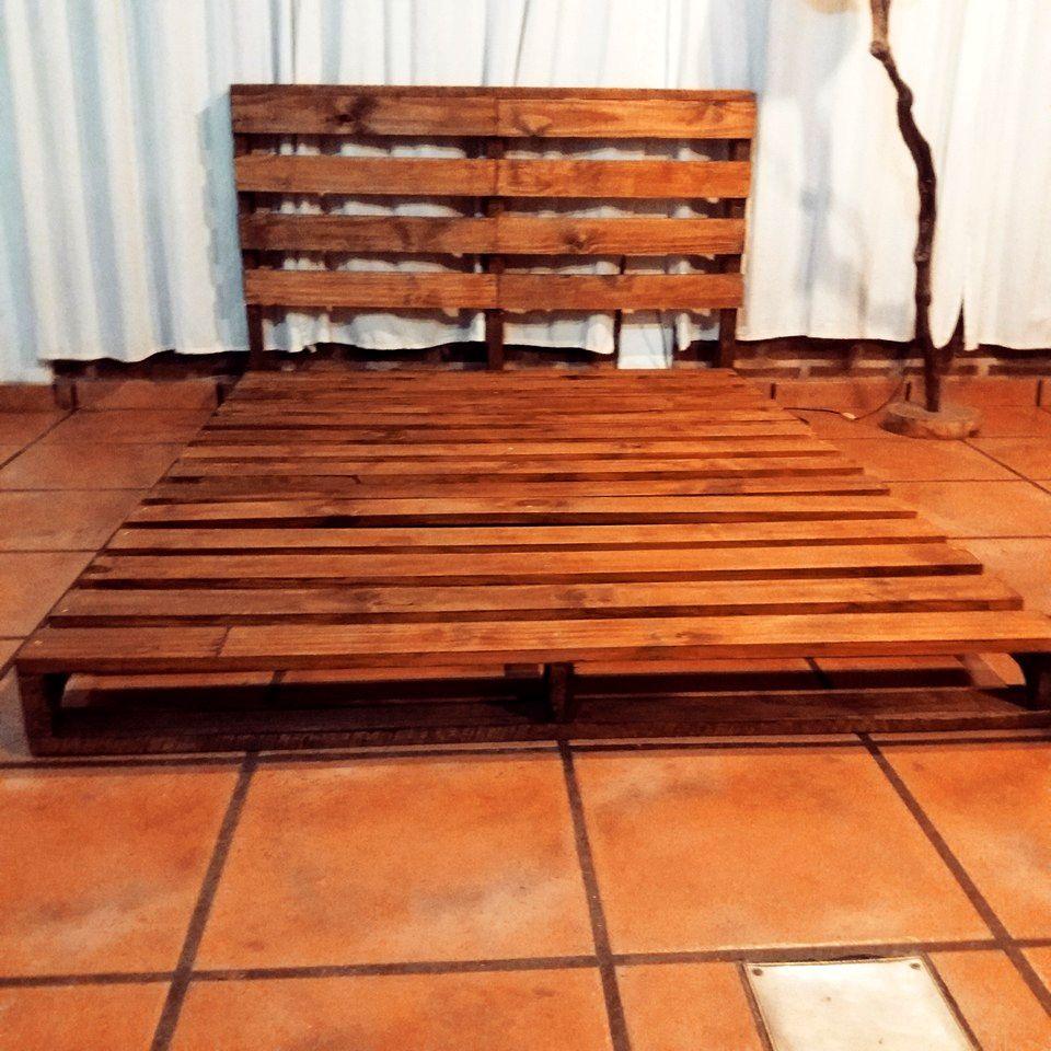 Wooden Pallet Platform Bed   Pinterest