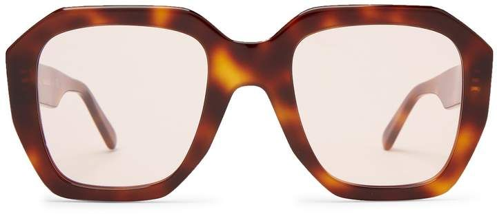 827d96bdd9db CÉLINE EYEWEAR Oversized tortoiseshell acetate sunglasses #glasses # sunglasses #lunettes #frame #style #fashion #accessories #affiliate  #mystyle #shopstyle ...
