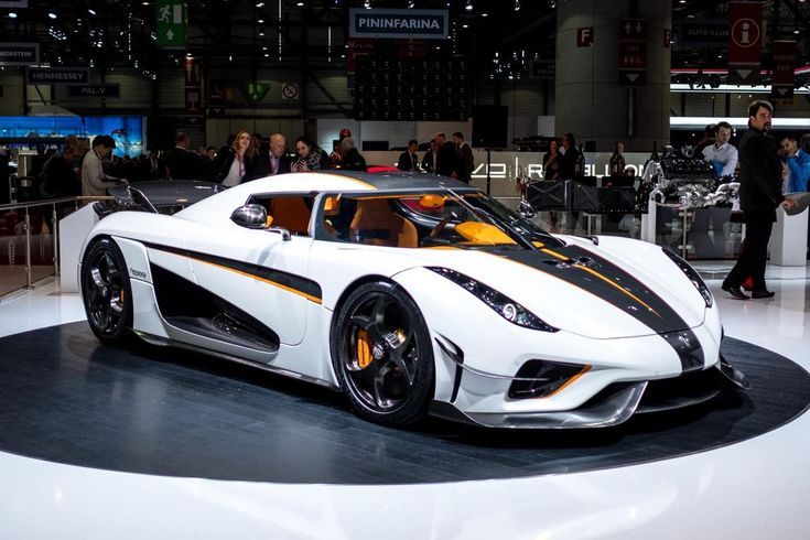 Best Sports Cars Ilration Description Koenigsegg Regera Ghost Aerodynamic Package In Crystal White Lacquer