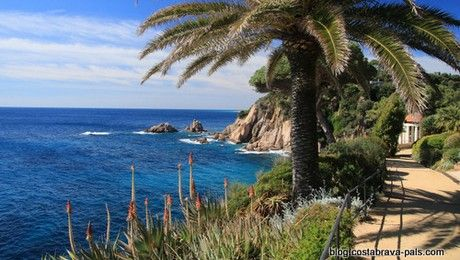 Sur La Costa Brava Les Jardins De Marimurtra A Blanes Est Un