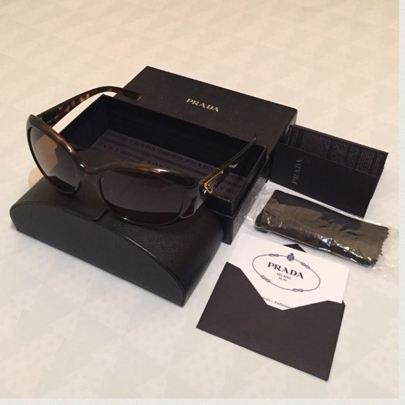 59fb101b3f3 ... promo code stylish prada polarized sunglasses authentic pradasunglasses  made in italy polarized in excellent condition worn