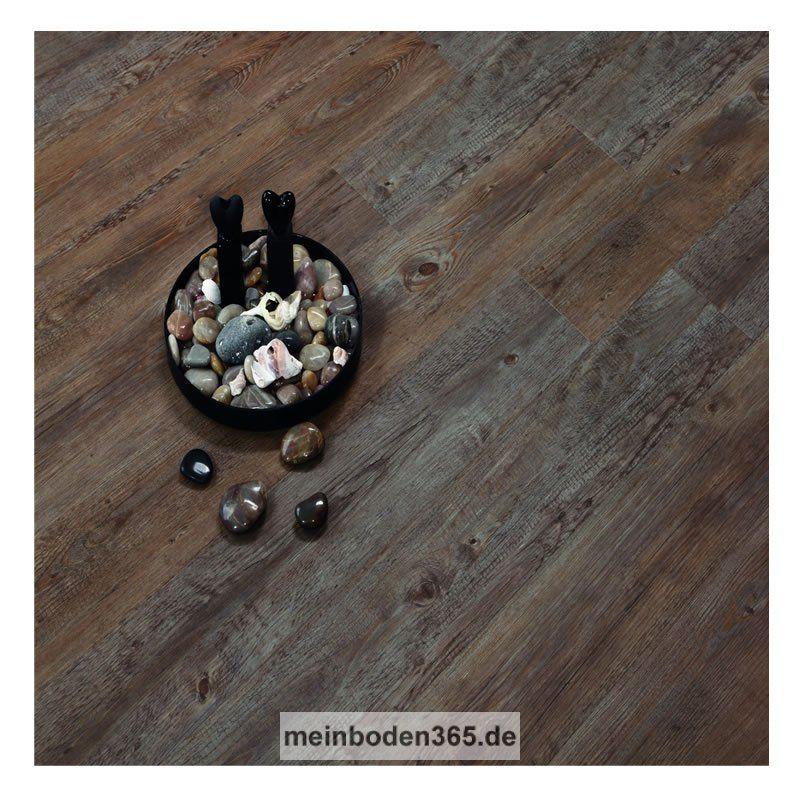 Das Vinyl Trier In Dem Dekor Eiche Antik Dunkel Ist Ein LVT - Vinyl klickböden