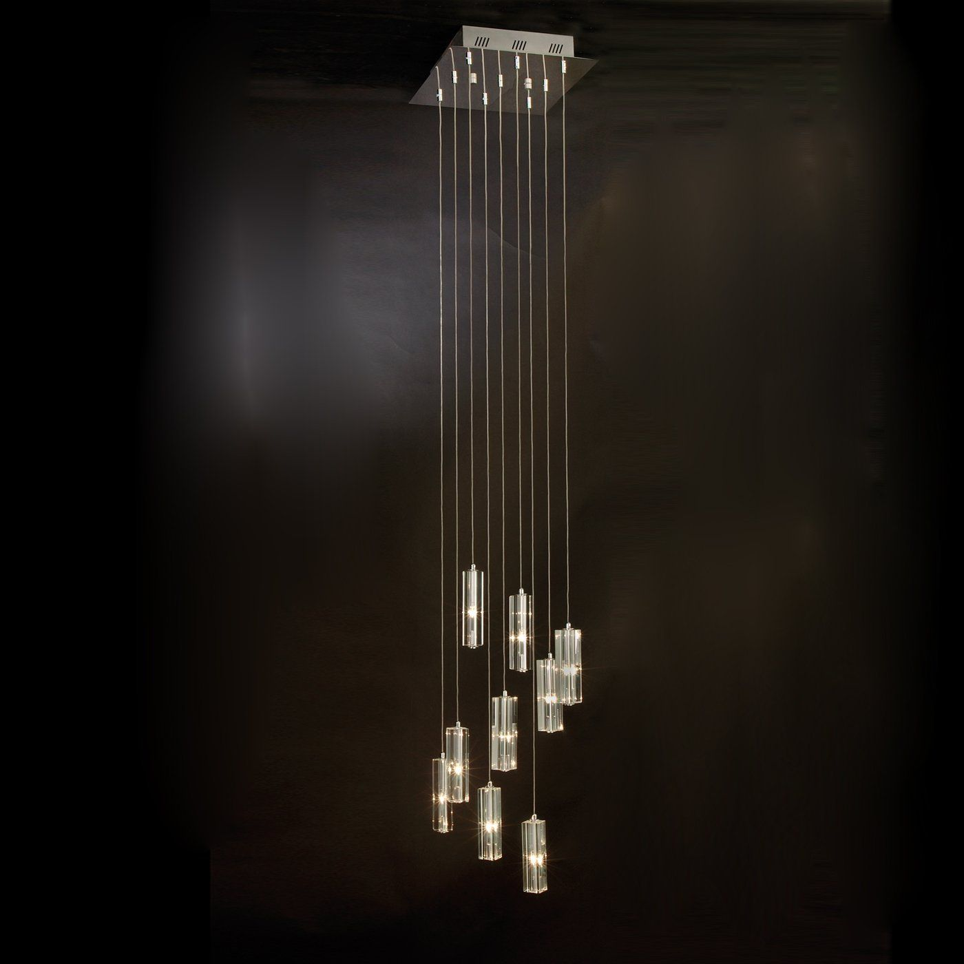 Trend Lighting A 9 9 Light Icarus Falling Chandelier