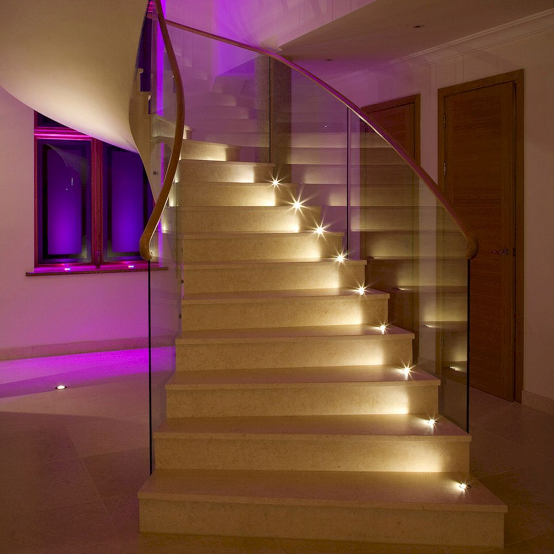 15 Incredible Mediterranean Staircase Designs That Will: 15+ Incredible Home Stair Design With Light That Very