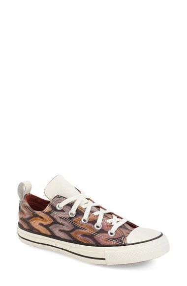 ... Missoni Chuck Taylor® All Star®  Flame - Ox  Sneaker (Women) at  Nordstrom.com. A glitter-dusted flame print energizes a sporty low-top  sneaker presented ... 1406eed5e