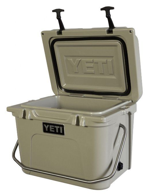 Amazon Com Yeti Coolers Roadie Cooler 20 Qt 20q Tan Sports Outdoors Ice Chest Cooler Camping Fun Camping Survival