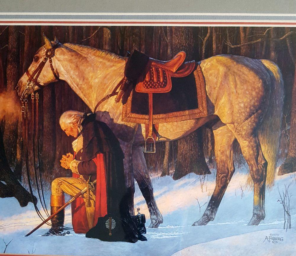 "Arnold Friberg ""Prayer At Valley Forge"" | Arnold friberg, Fine art ..."