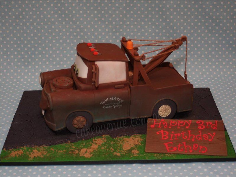 Tow Mater Cake  By CakeAvenue CakesDecorcom Decorating