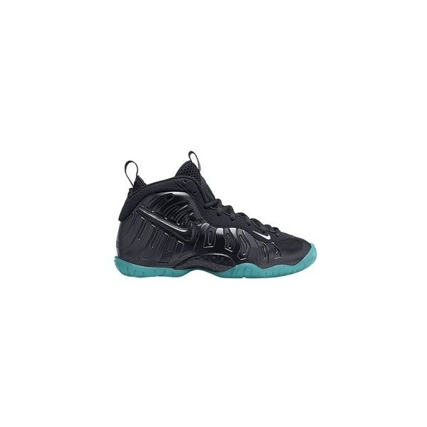 Nike Little Posite Pro Boys' Grade School ($180) ❤ liked on Polyvore  featuring