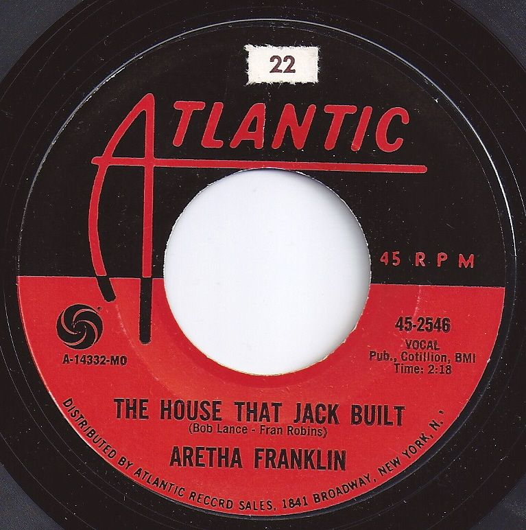 6 on Billboard / The House That Jack Built / Aretha