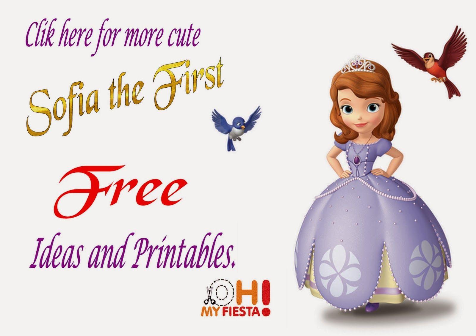 Princess Sofia the First Party Invitations, Free Printables ...