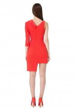 🙂 ¡¡Precioso mini  vestido  rojo de  ElisabettaFranchi ... fed5942a2b8fd