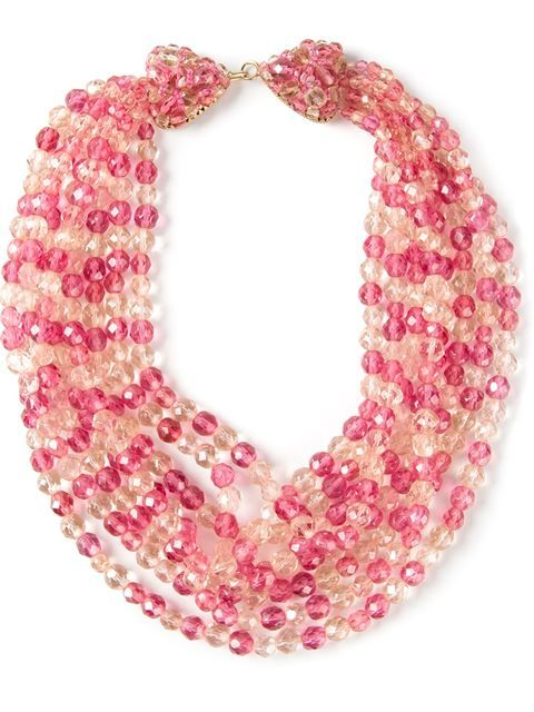 Shop Coppola E Toppo Vintage glam pink necklace in Katheleys Vintage from the world's best independent boutiques at farfetch.com. Over 1000 designers from 300 boutiques in one website.