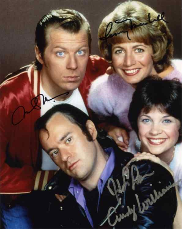 Tv show laverne and shirley cast